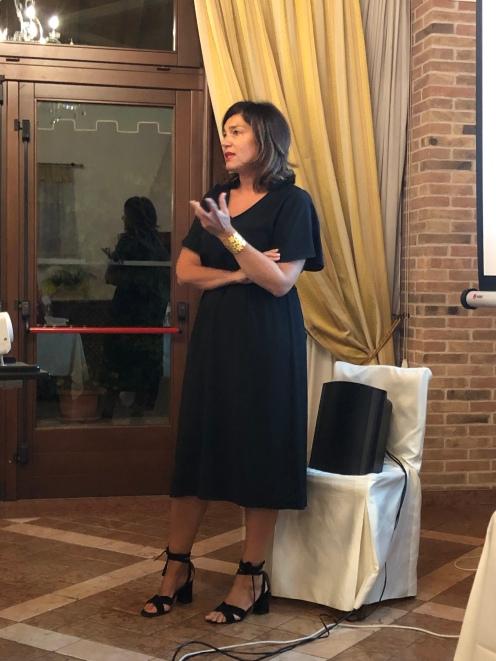 Lionella Genovese organizzatrice di eventi