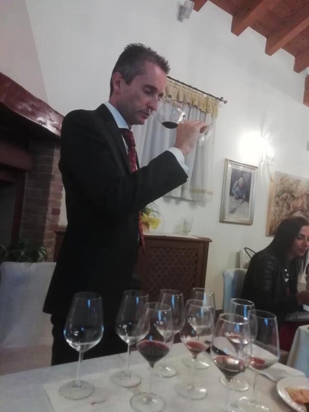 Andrea da Ros -relatore (docente FISAR)
